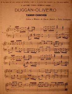 DUGGAN-OLIVERO   TANGO CANCION-