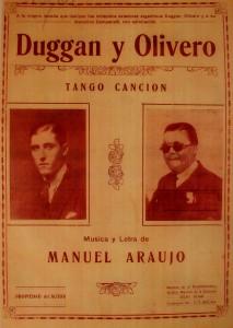 DUGGAN Y OLIVERO   TANGO CANCION