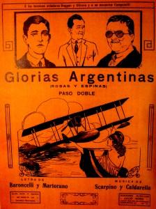 GLORIAS ARGENTINAS-ROSAS Y ESPINAS   PASO DOBLE