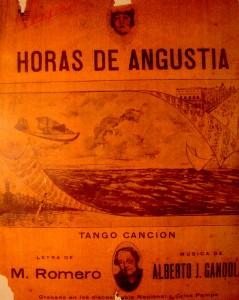 HORAS DE ANGUSTIA   TANGO CANCION