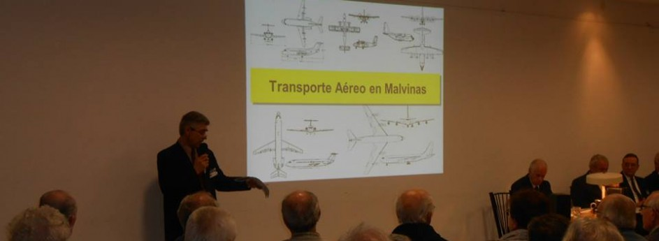 "Conference ""The air transport over Malvinas"""