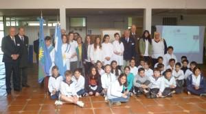 Escuela 53 120º Aniversario nacimiento Olivero 1