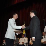 Otorgamiento del premio «Mayor Eduardo Olivero» en la Escuela Superior de Guerra Aérea
