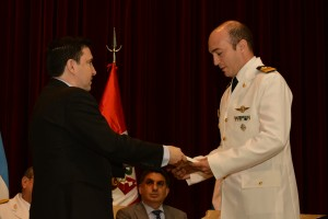 Entrega Premio Mayor Olivero en la ESGA