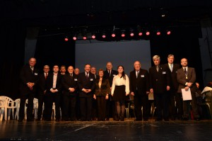 Integrantes del Instituto Olivero